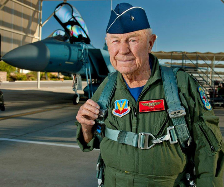 26 Chuck Yeager
